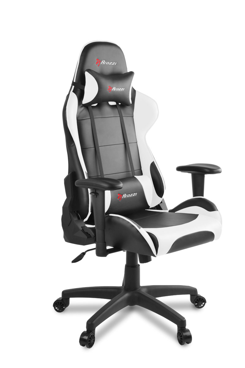 Arozzi Verona V2 Gaming Chair Black White Gamegear Be Improve Your Game